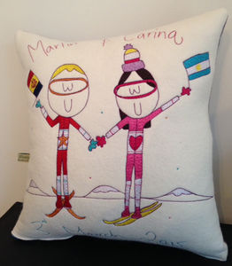 Personalised Engagement Cushion