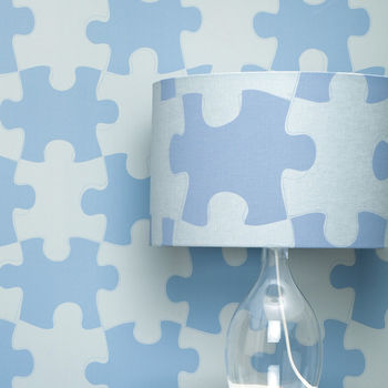 Puzzle Pieces Lampshade
