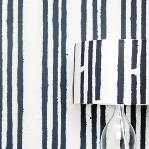 Graffiti Stripe Lampshade - lighting
