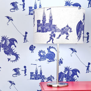 Dragon And Knight Lampshade