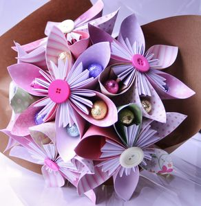 Chocolate Easter Bouquet - easter flowers & plants