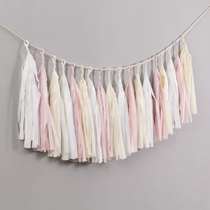 Elegance Handcut Tassel Garland - wedding
