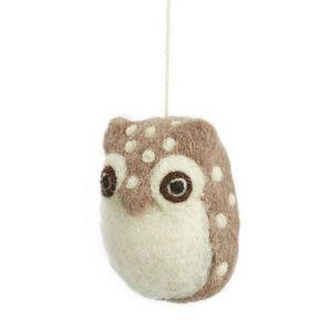 Handmade Felt Baby Owl
