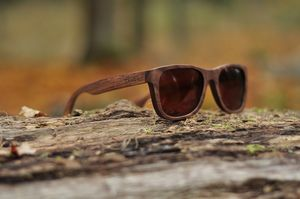 ''Black Hawk'' Wooden Sunglasses