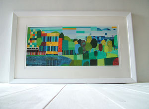 Cannon Hill Print - modern & abstract