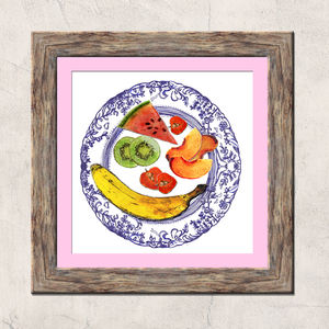 Fruit Plate Limited Edition Signed Print