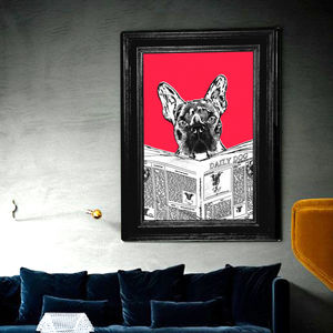 Dogs Rule, Animal Canvas Art Print - whatsnew