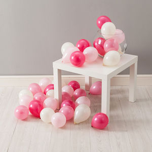 Baby Girl Mini Balloon Pack - parties