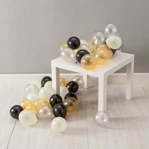 Glitz And Glam Mini Balloon Pack - outdoor decorations