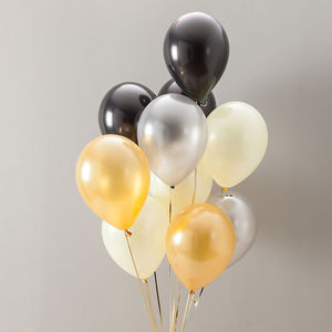 Glitz And Glam Party Balloon Pack - outdoor decorations