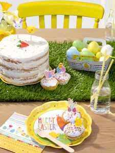 Artificial Grass Table Runner - easter homeware