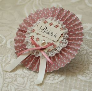Polka Dot Hen Party Rosettes