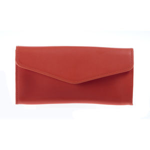 Lily Envelope Leather Wallet - purses