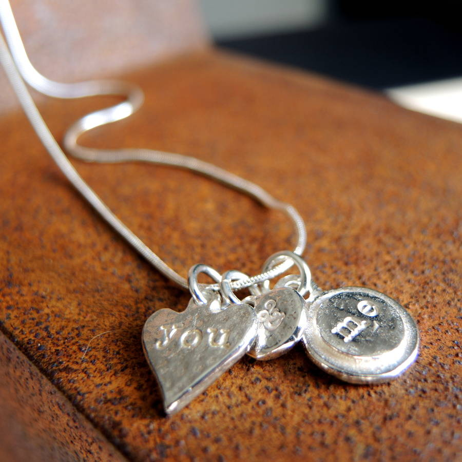 You And Me Charm Necklace