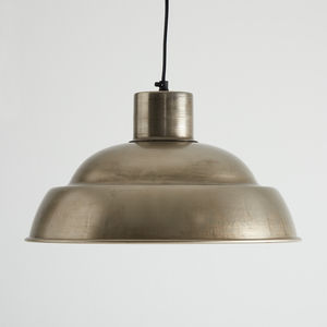 Antique Nickel Pendant Light