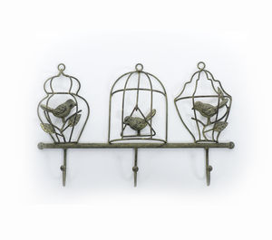 Birdcage Hooks - art & decorations