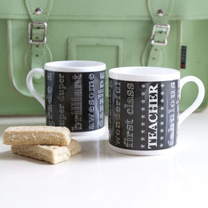 Brilliant Teacher Mug Thank You Gift