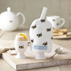 Busy Bee China Egg Cup - egg cups & cosies