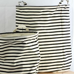 Stripes Large Laundry Basket