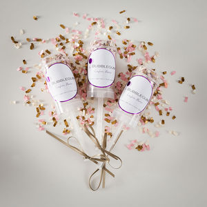 Baby Girl Confetti Flutter - table decorations