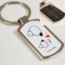 Personalised Sheep Keyring