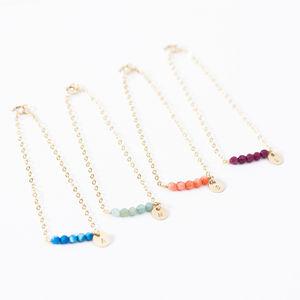 Personalised Bridesmaids Bracelets - women's jewellery