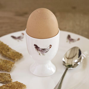 Chicken China Egg Cup - egg cups & cosies