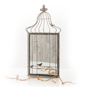 Birdcage Mirror - bedroom