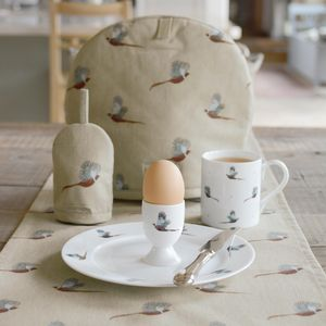 Pheasant Egg Cosy - egg cups & cosies
