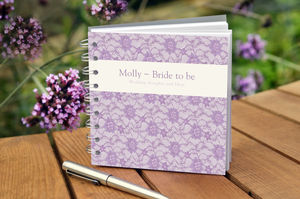 Bride To Be Notebook - albums & guest books