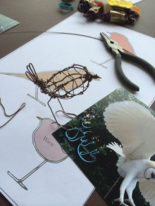 Wire Bird Making Workshop For One - experience gifts