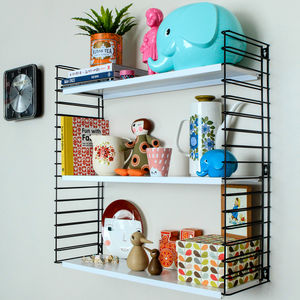 Mid Century Tomado Wall Shelves - furniture