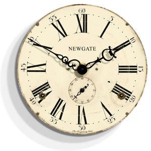 Newgate Knightsbridge Wall Clock - new in home