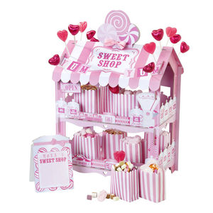Pink Sweet Shop Stand - table decorations