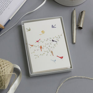 Birds Luxury Boxed Card Set