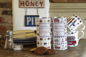 British Chocolate Chunk Biscuits - biscuits and cookies