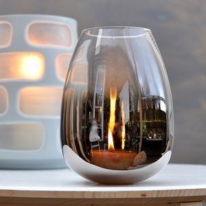 Volcano Storm Lantern - candles & candlesticks