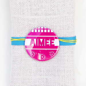 Mexican Fiesta Wedding Favour And Place Setting