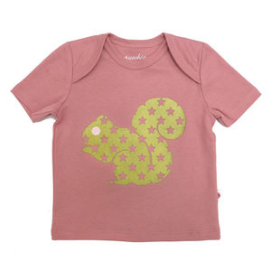 Organic Squirrel Baby T Shirt