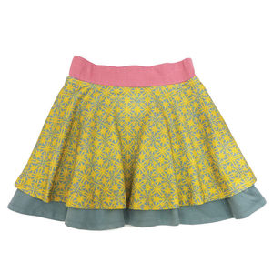 Organic Girl's Reversible Skirt - clothing