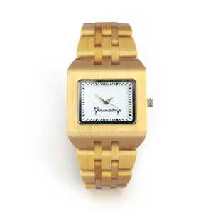 Bambijou Bamboo Watch - women's jewellery