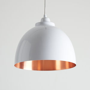 Copper Detailed Pendant Light - lighting