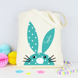 Personalised 'Rabbit' Tote Bag - womens