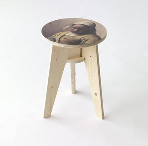 Piet Hein Eek Milkmaid Stool - furniture