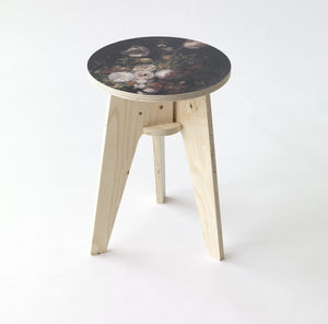 Piet Hein Eek Still Life Flowers Stool - furniture