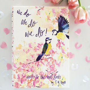 Wedding Guest Book Lovebirds