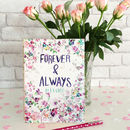Wedding Guest Book Forever And Always By B R Guest