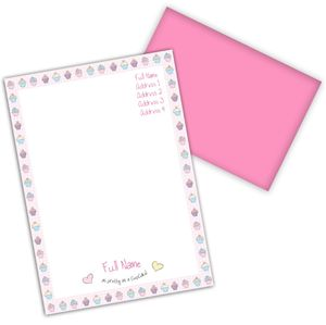 Girl's Personalised Stationery Set - office & study