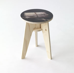Piet Hein Eek Still Life With Asparagus Stool - furniture