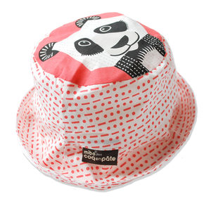 Sun Hat Panda - hats, scarves & gloves